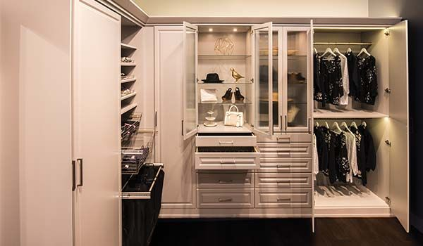 ... Mdf Wardrobe Closet View1 Pantry Morning Dew Intrigue View2 Pantry  Morning Dew Intrigue View3 Portabella Ivory Walk In Closet Pull Outs River  Rock Media ...